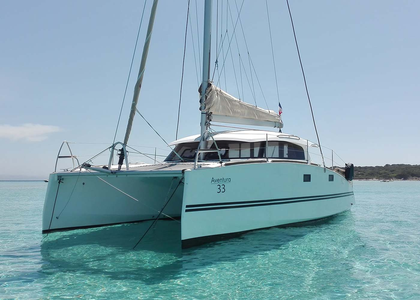 location bateau Aventura 33