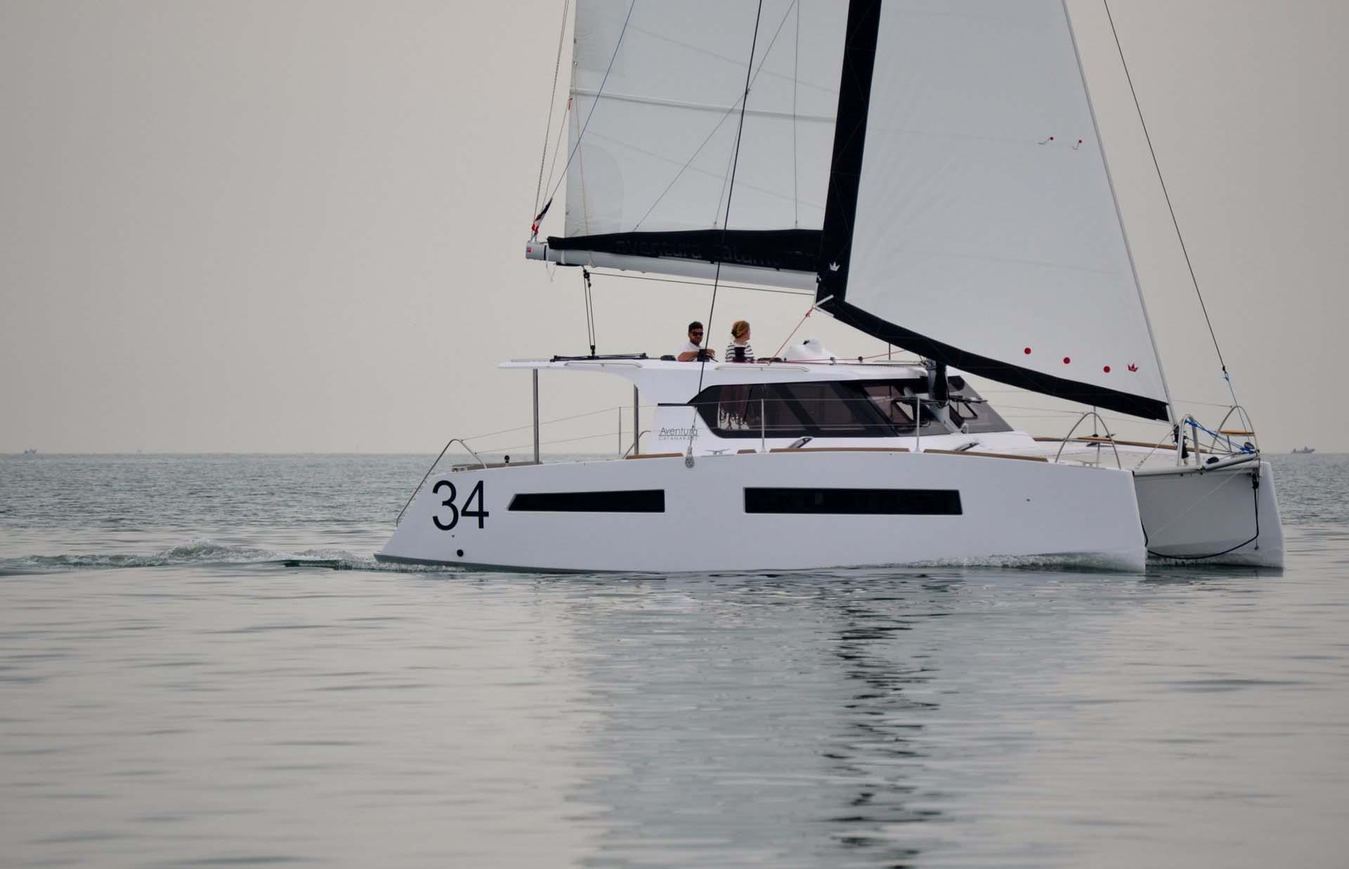 location bateau Aventura 34