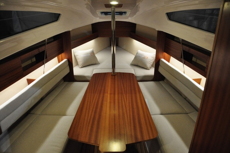 intérieur Maxus Evo 24 Prestige