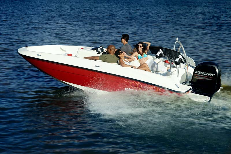 location bateau Bayliner Element XL