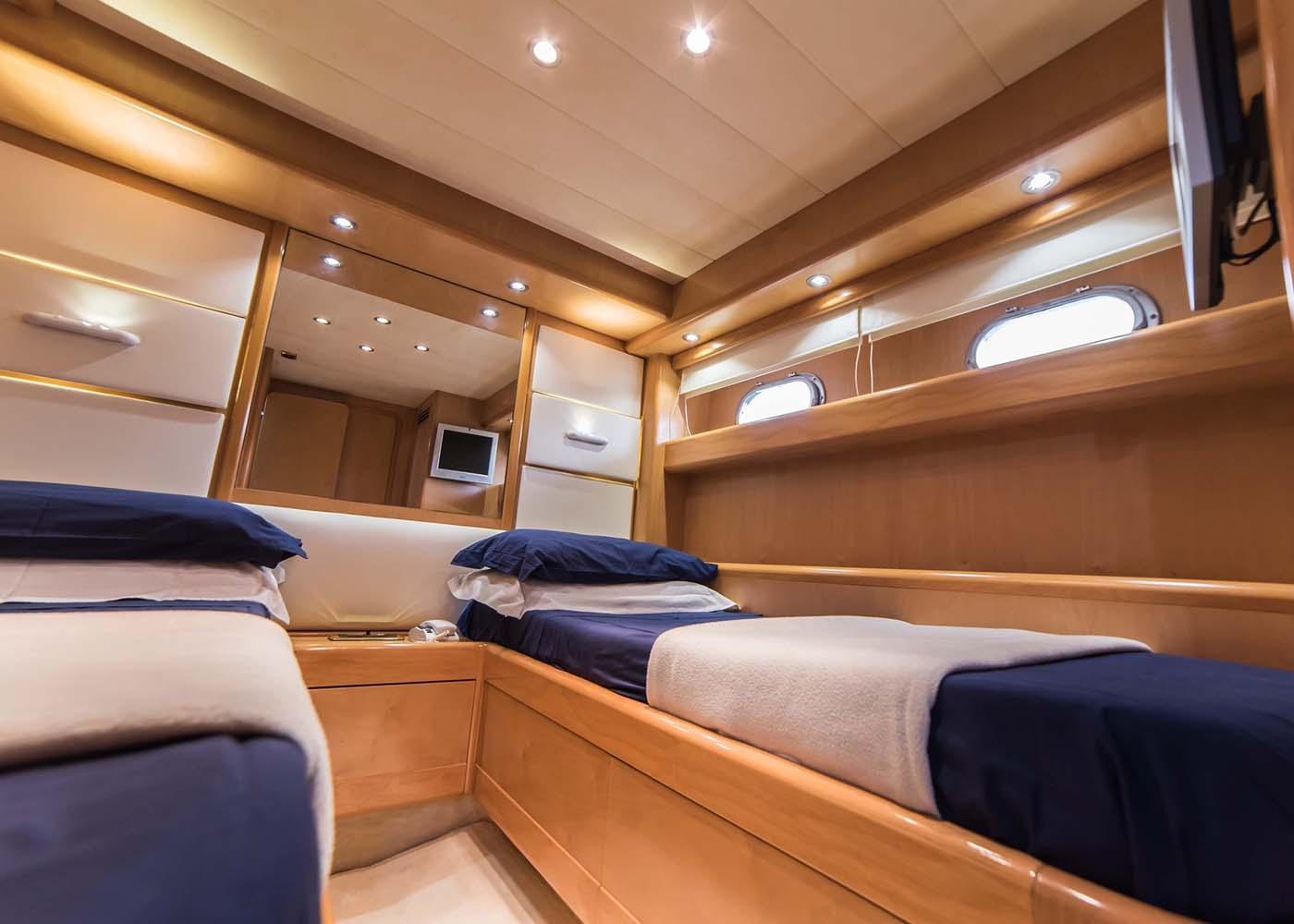 intérieur Benetti SD 62