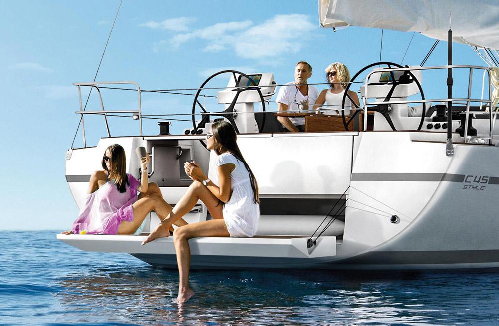 location bateau Bavaria C45 Style