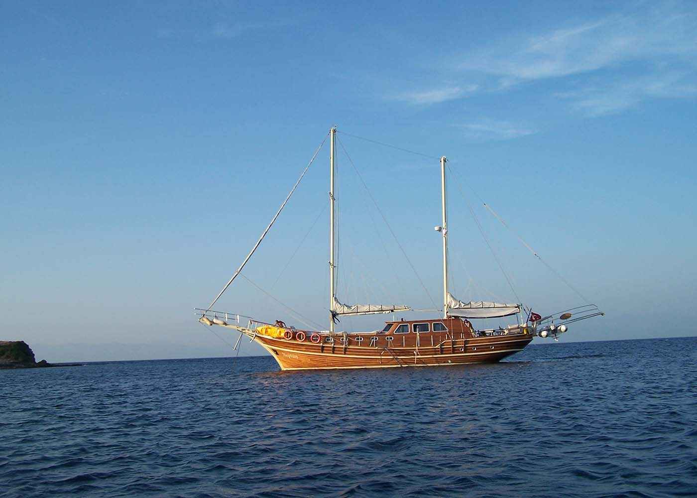 location bateau Neptun
