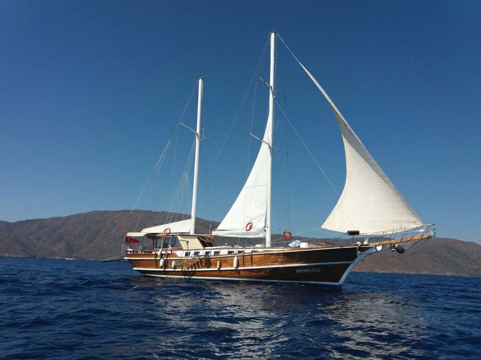 location bateau Prenses Gulce