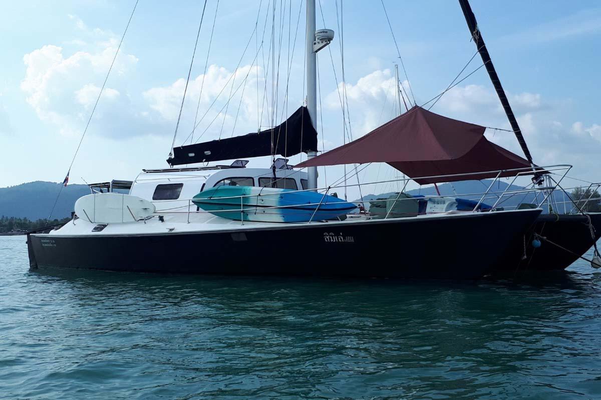 location bateau Custom built