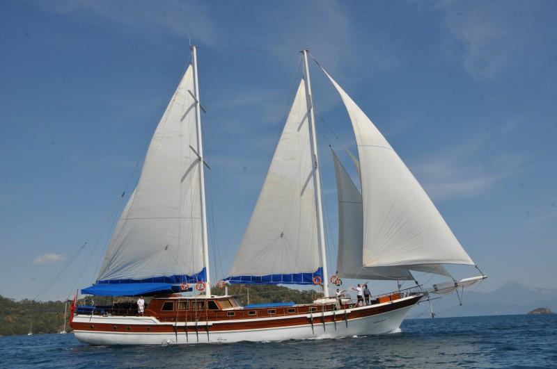 location bateau Salmakis