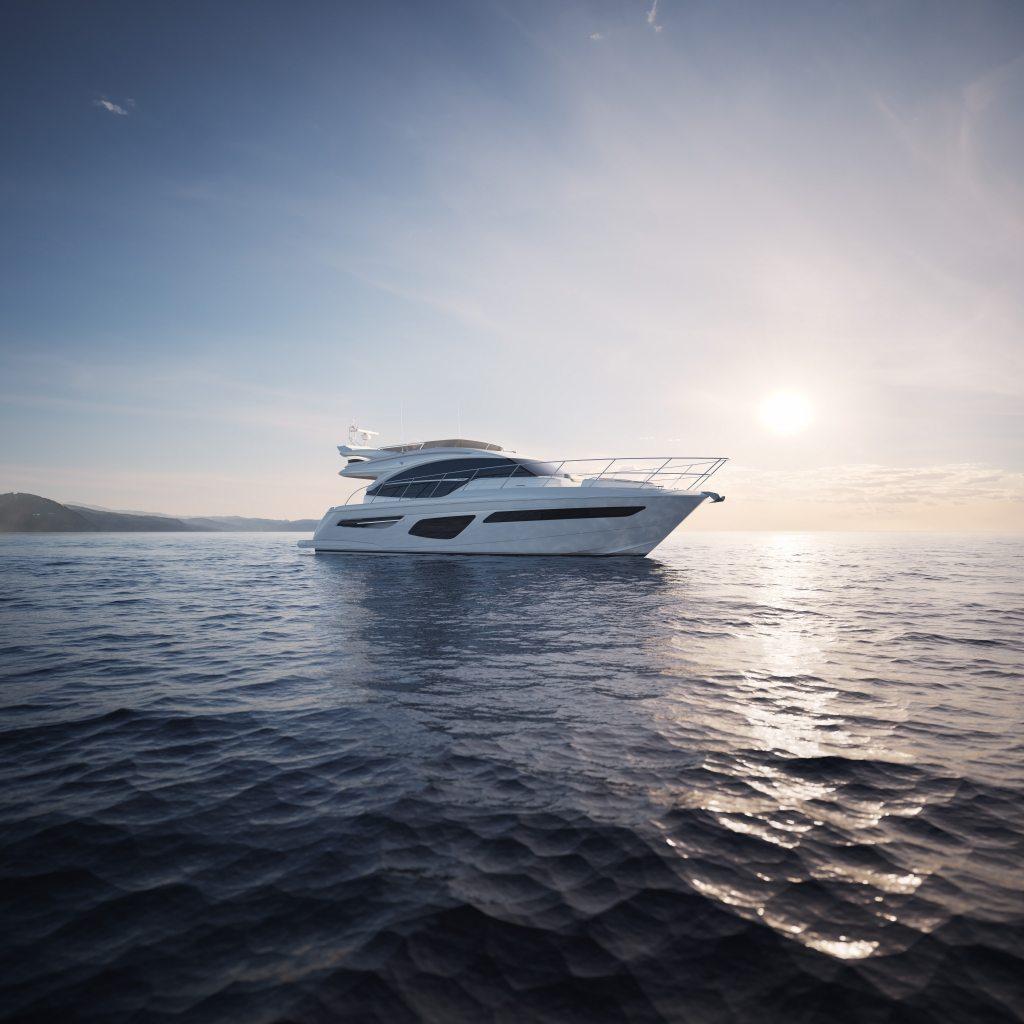 location bateau Princess 55 F