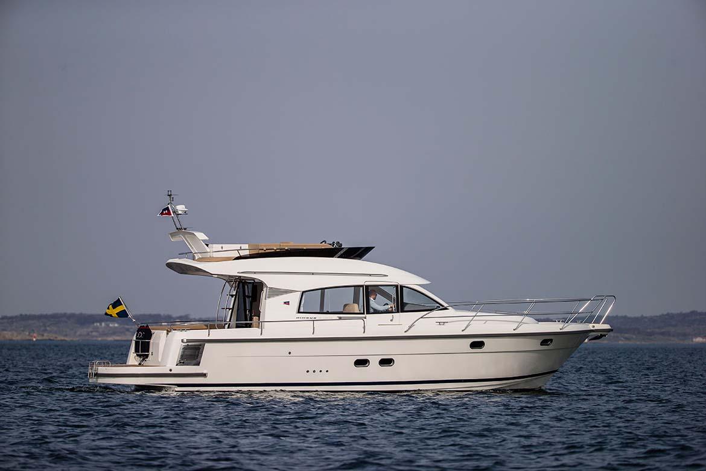 location bateau Nimbus 405 Fly
