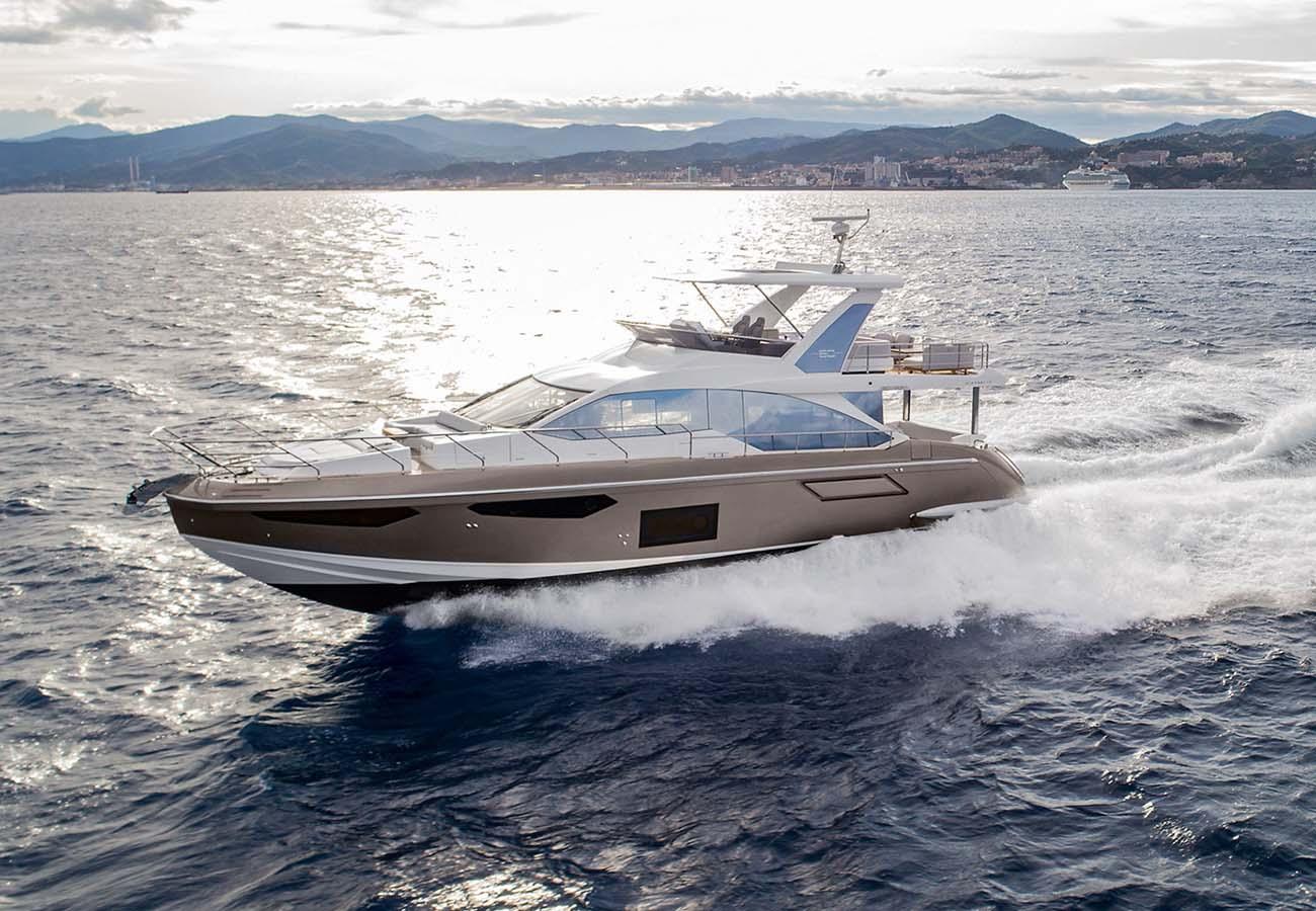 location bateau Azimut 60
