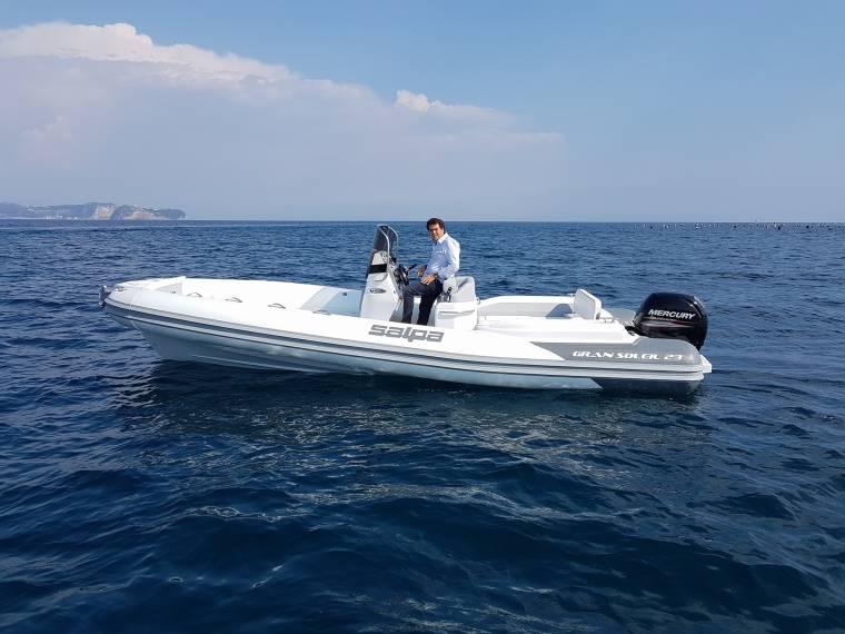location bateau Salpa Gran Soleil 23