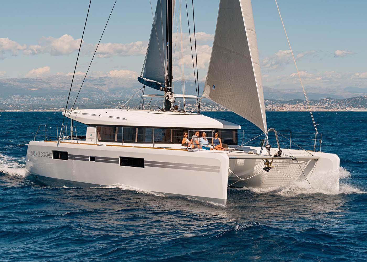 location bateau Lagoon 52 S