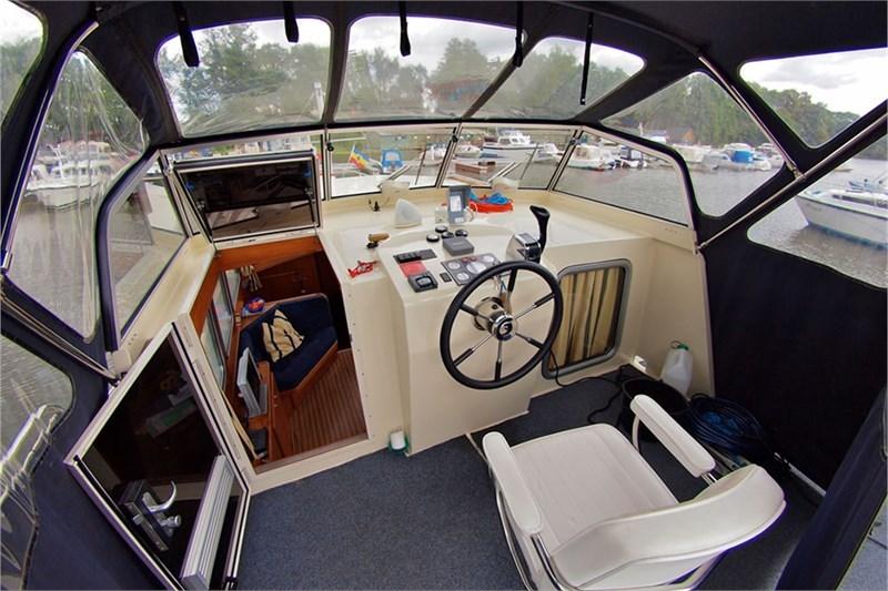 inside Drifter 1150 AK