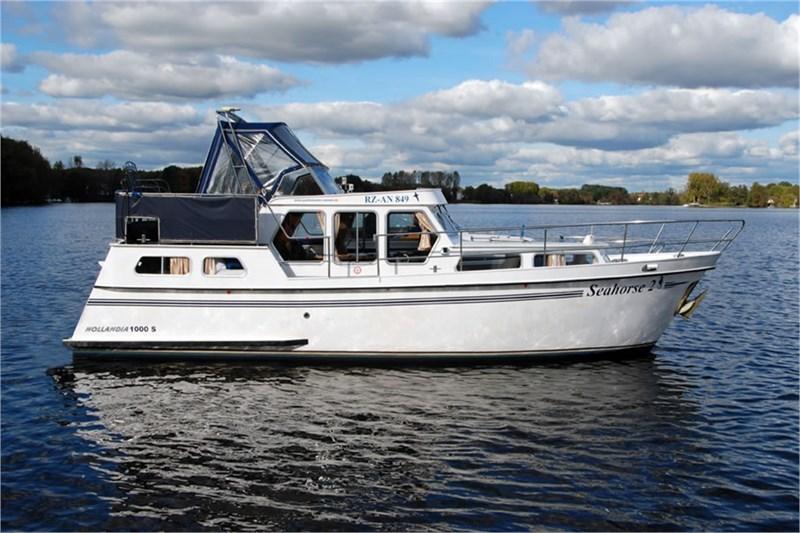 location bateau Hollandia 1000 S