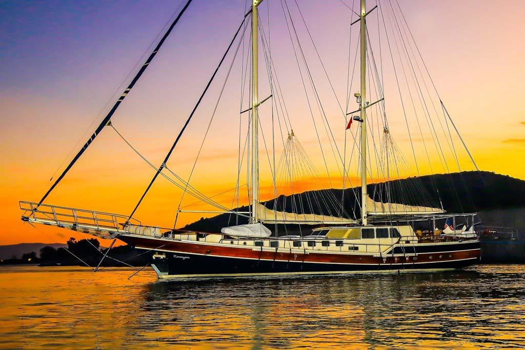 location bateau Kanaryam