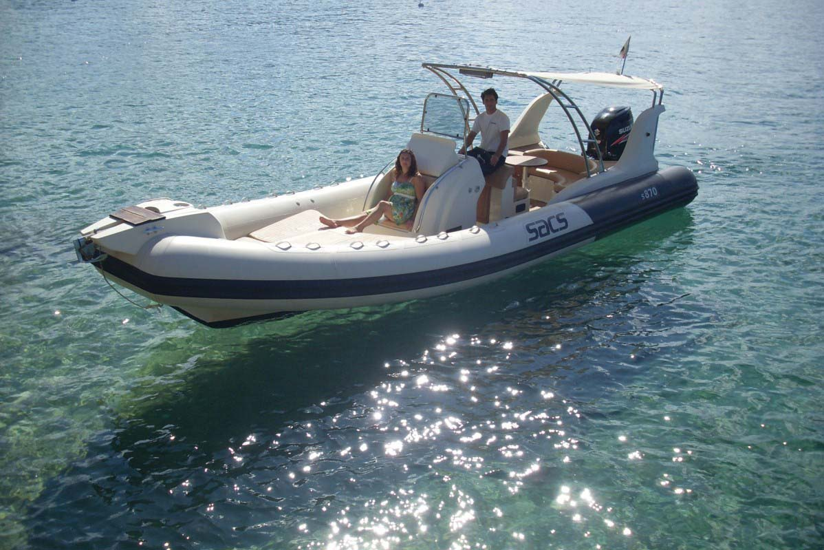 location bateau Sacs 870