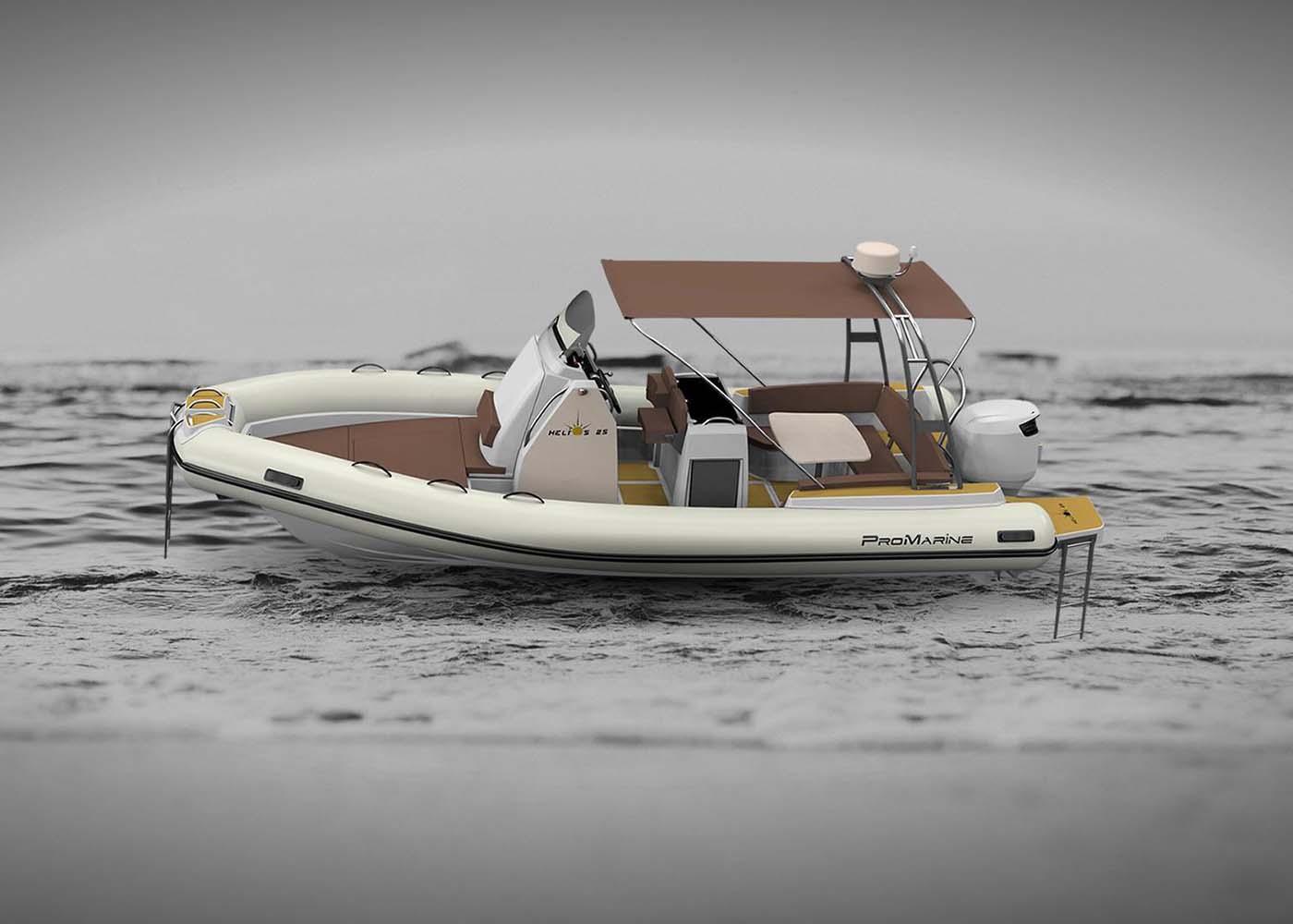 location bateau Helios 25