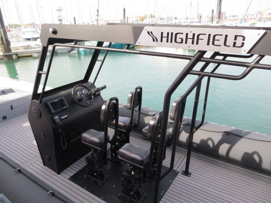 extérieur Highfield Patrol 860 Sar