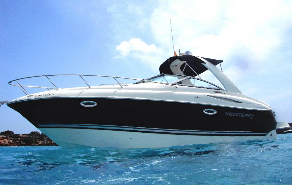 location bateau Monterey 270 SC