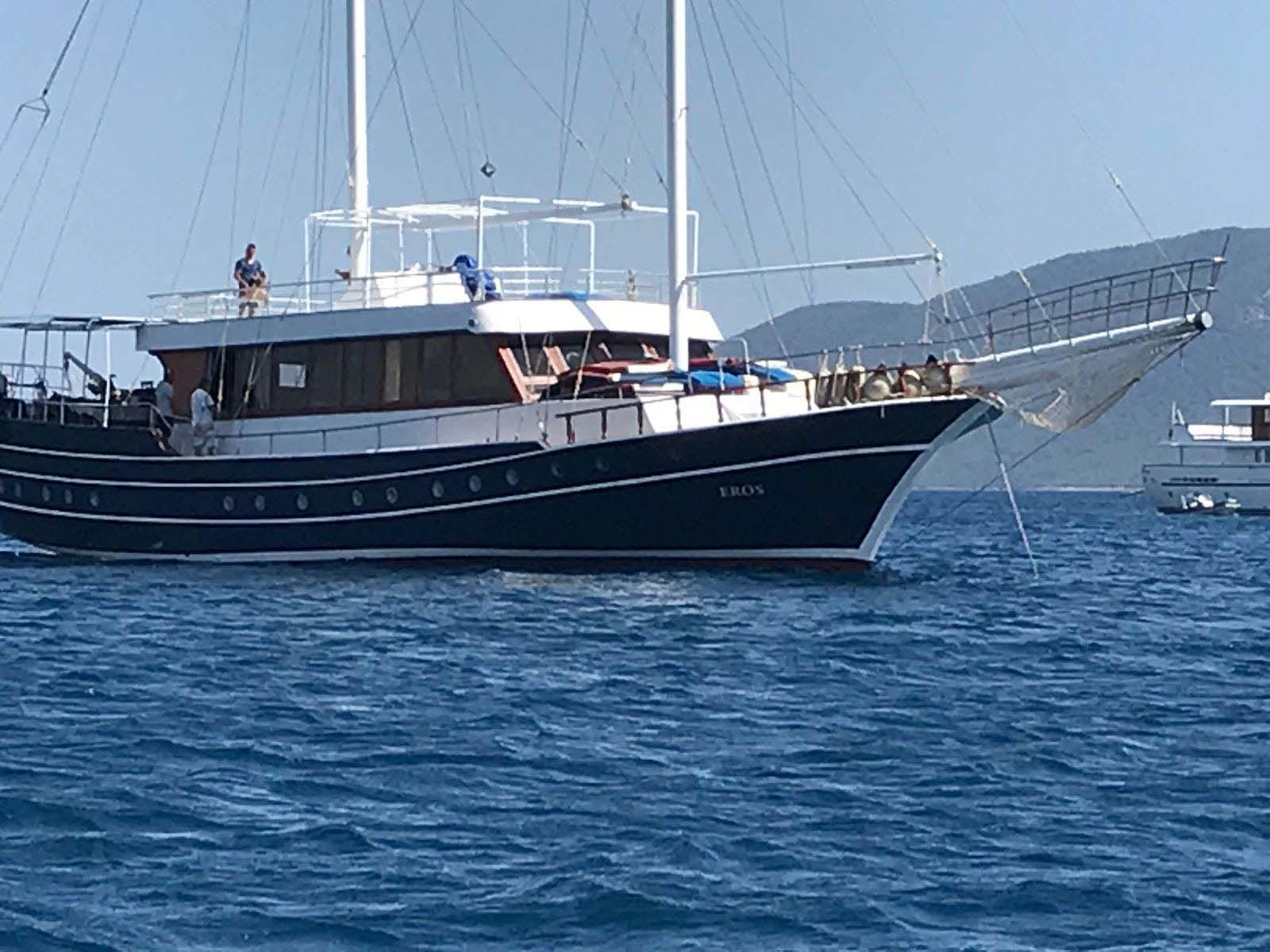 location bateau Eros