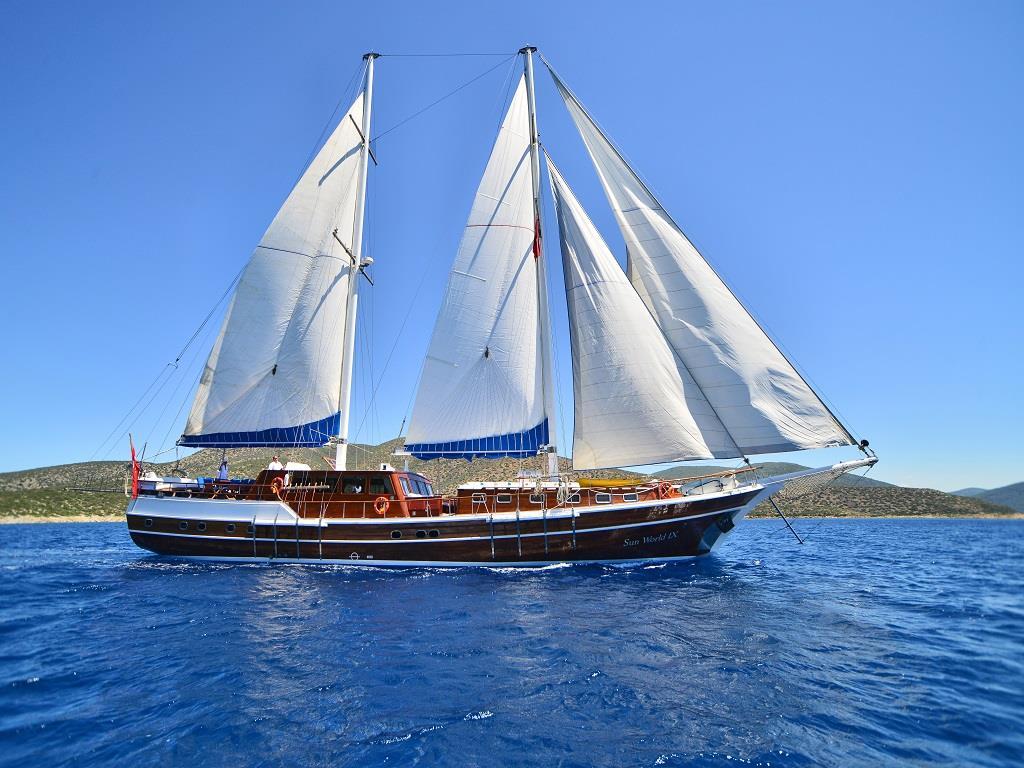 location bateau Sunworld IX