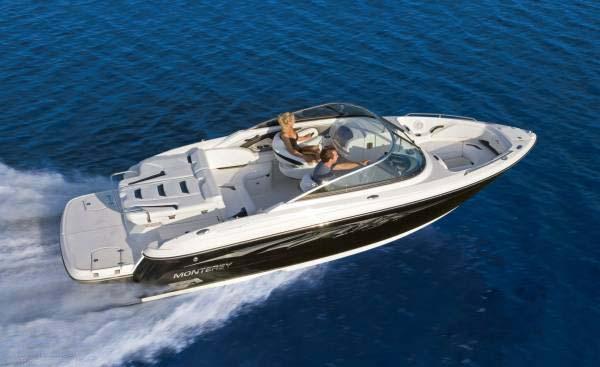 location bateau Monterey 244 FS