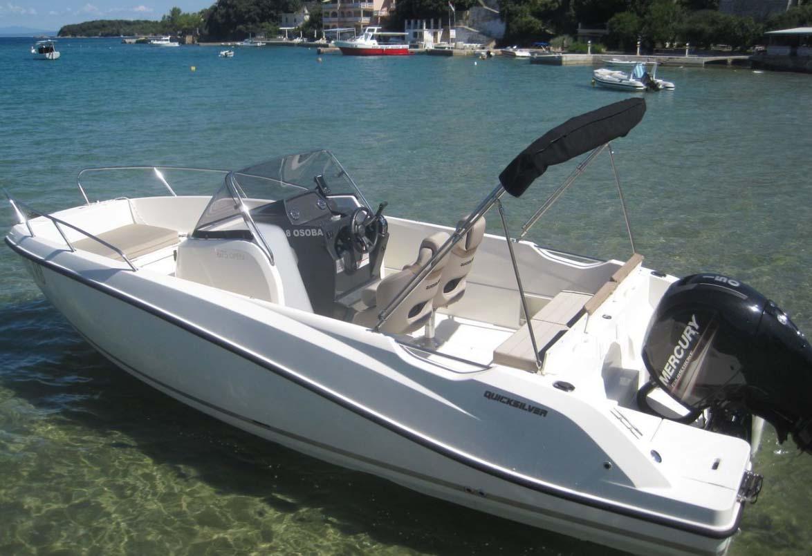 location bateau Mareti 450 Open