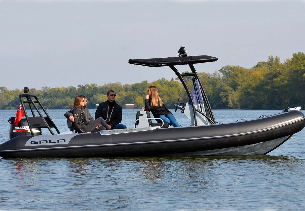 location bateau Gala V650