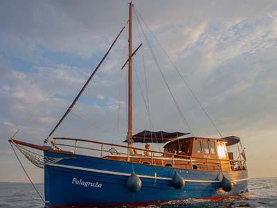 location bateau Palagruza