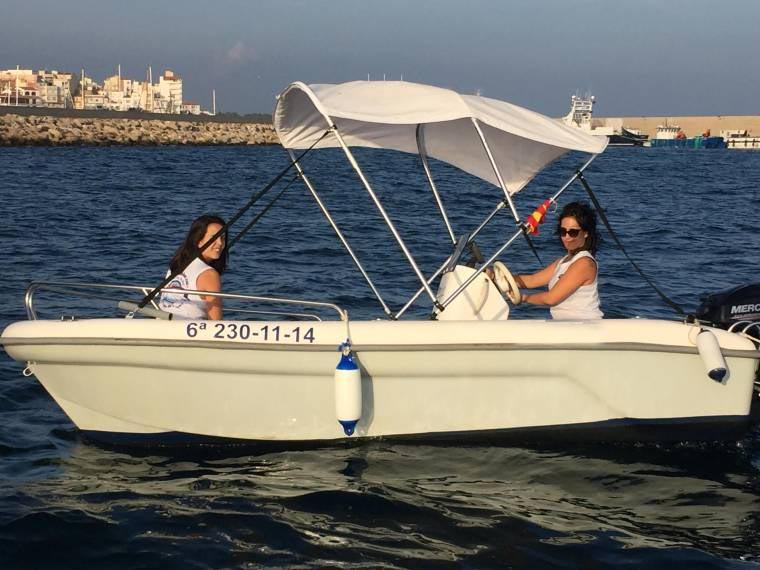 location bateau Astec 400