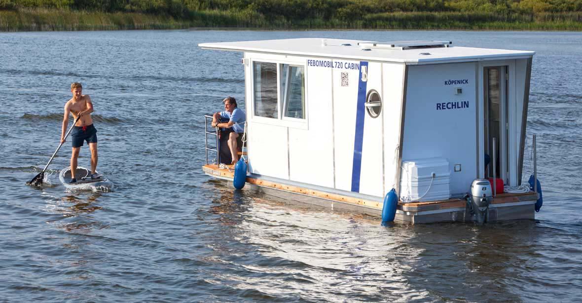 location bateau Febomobil 720 Cabin