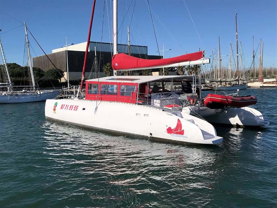 location bateau Maxicat 53
