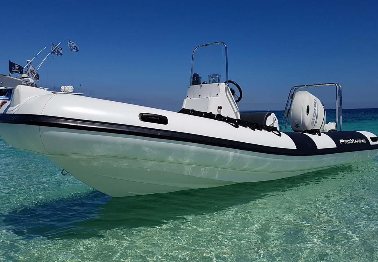 Location bateau  Manta 610