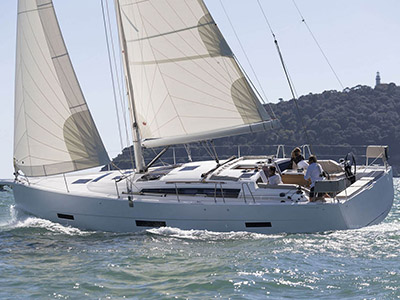 location bateau Dufour 430 GL