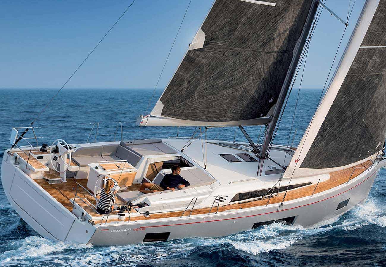 location bateau Oceanis 46.1