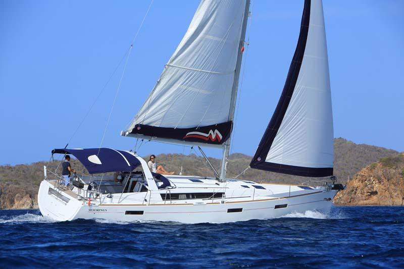 location bateau Moorings Oceanis 45