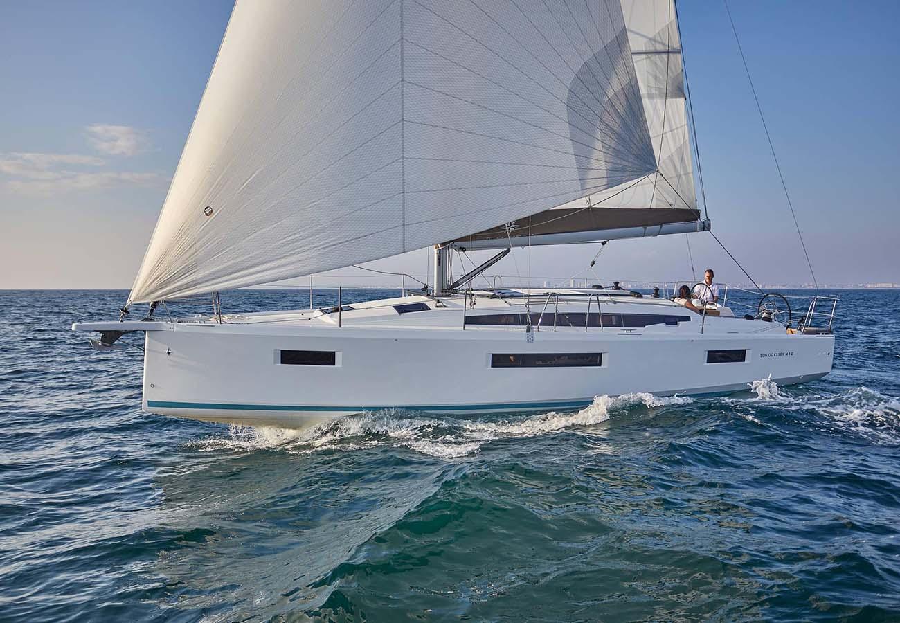 location bateau Sun Odyssey 410