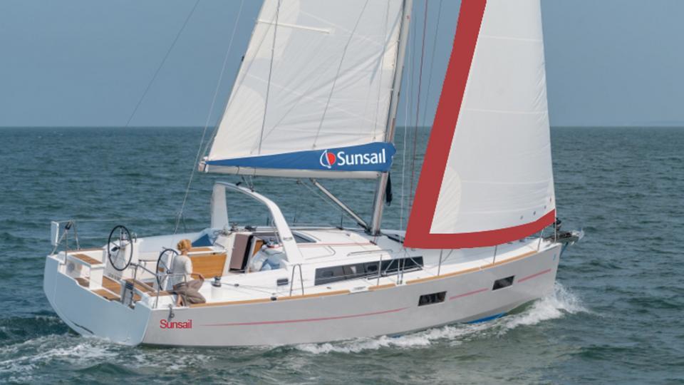 location bateau Sunsail Oceanis 38