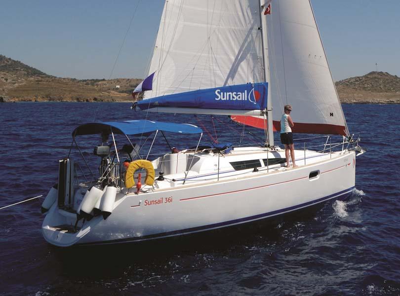 location bateau Sunsail Sun Odyssey 36i