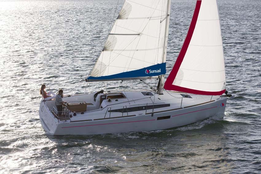 location bateau Sunsail Sun Odyssey 349