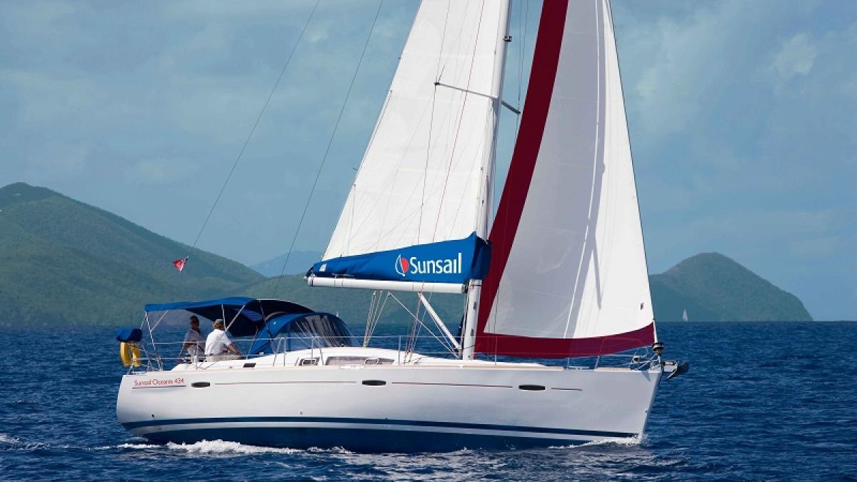 location bateau Sunsail Oceanis 430