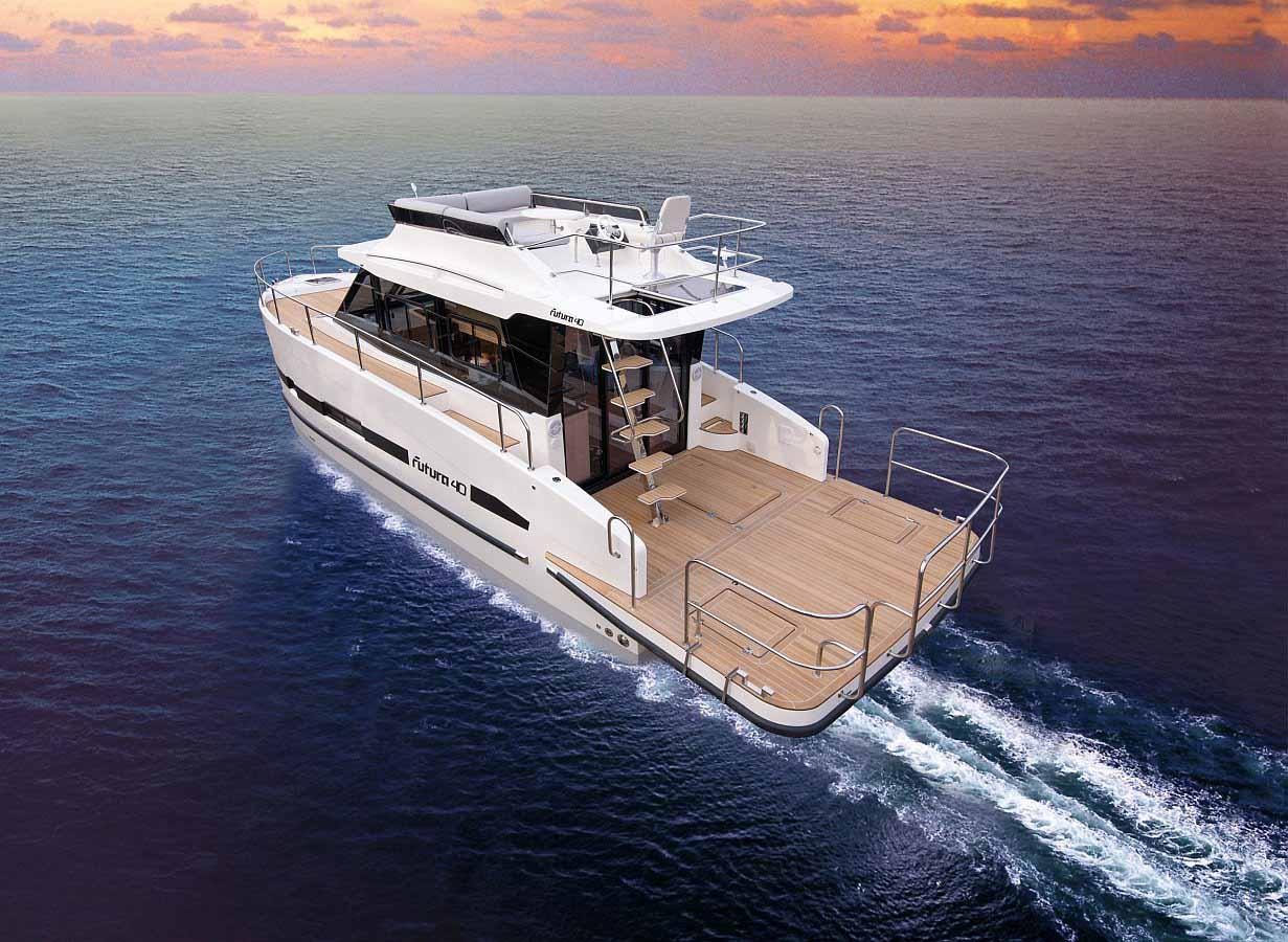 Location bateau  Futura 40 Grand Horizon
