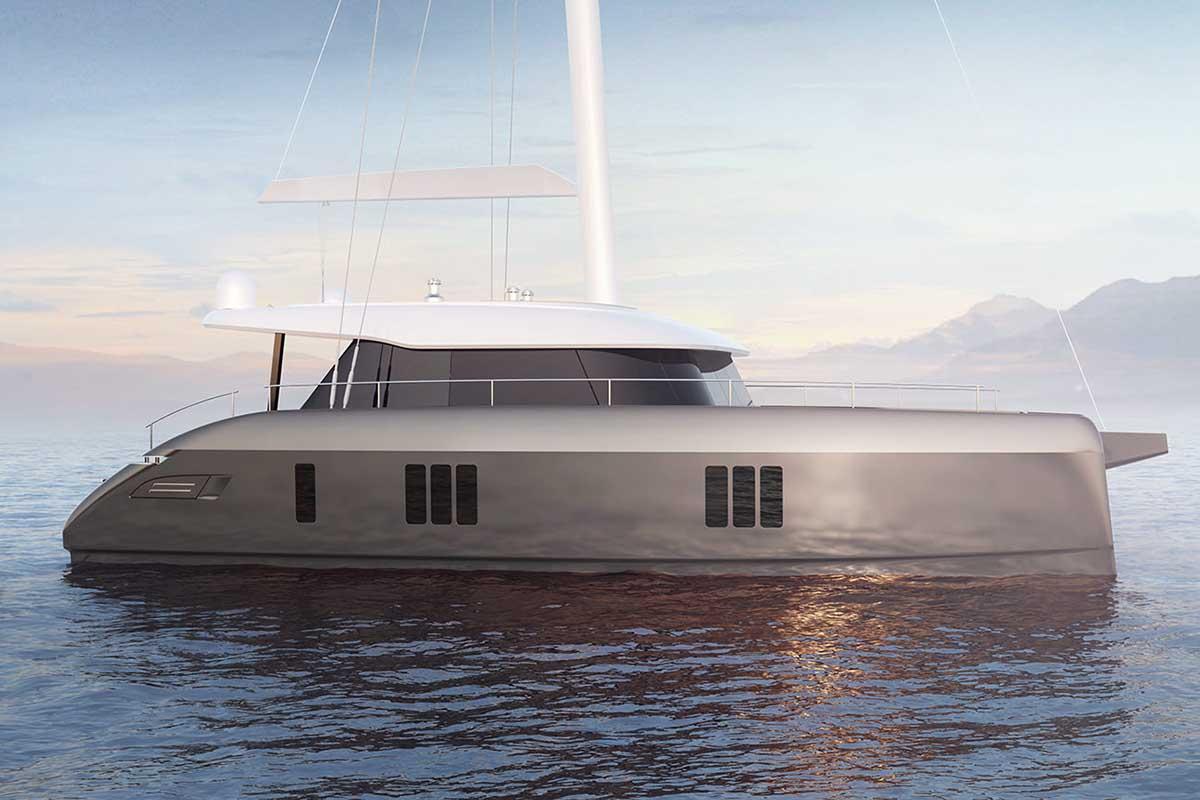 location bateau Sunreef 50