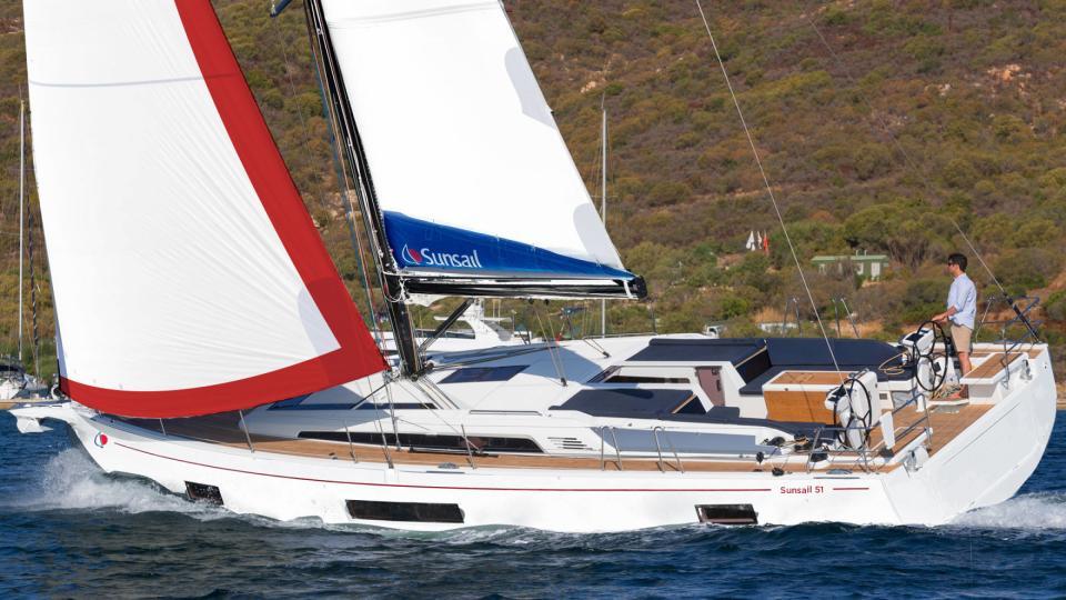 location bateau Sunsail Oceanis 51.1