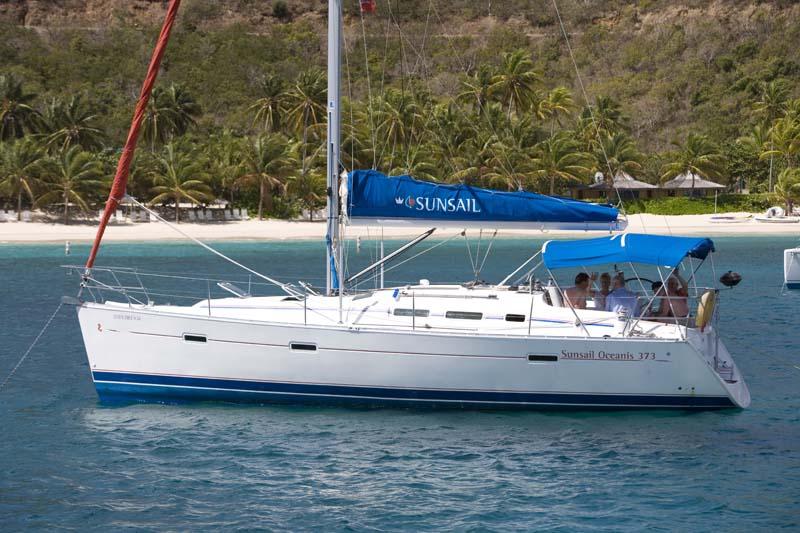 location bateau Sunsail Oceanis 373