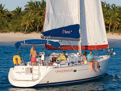 location bateau Sunsail Oceanis 423