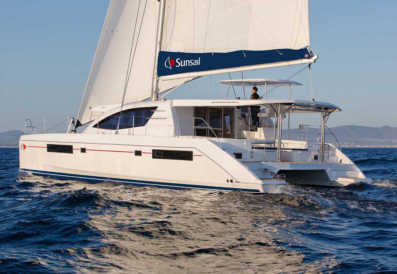 location bateau Sunsail Leopard 48