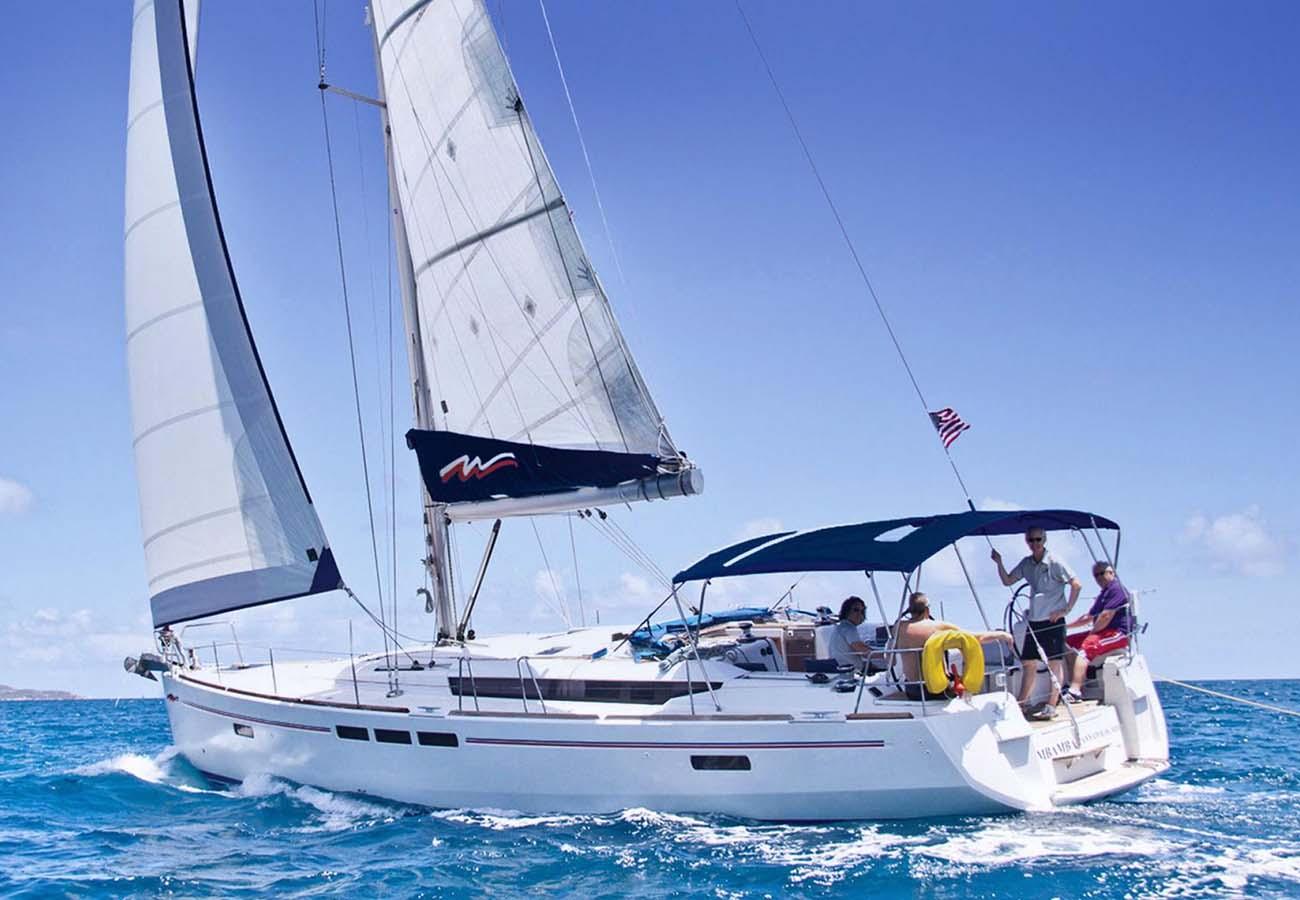 location bateau Moorings Sun Odyssey 519