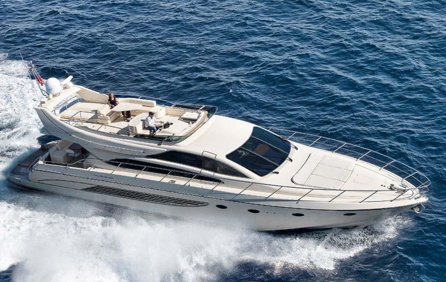 location bateau Riva Dolcevita 70