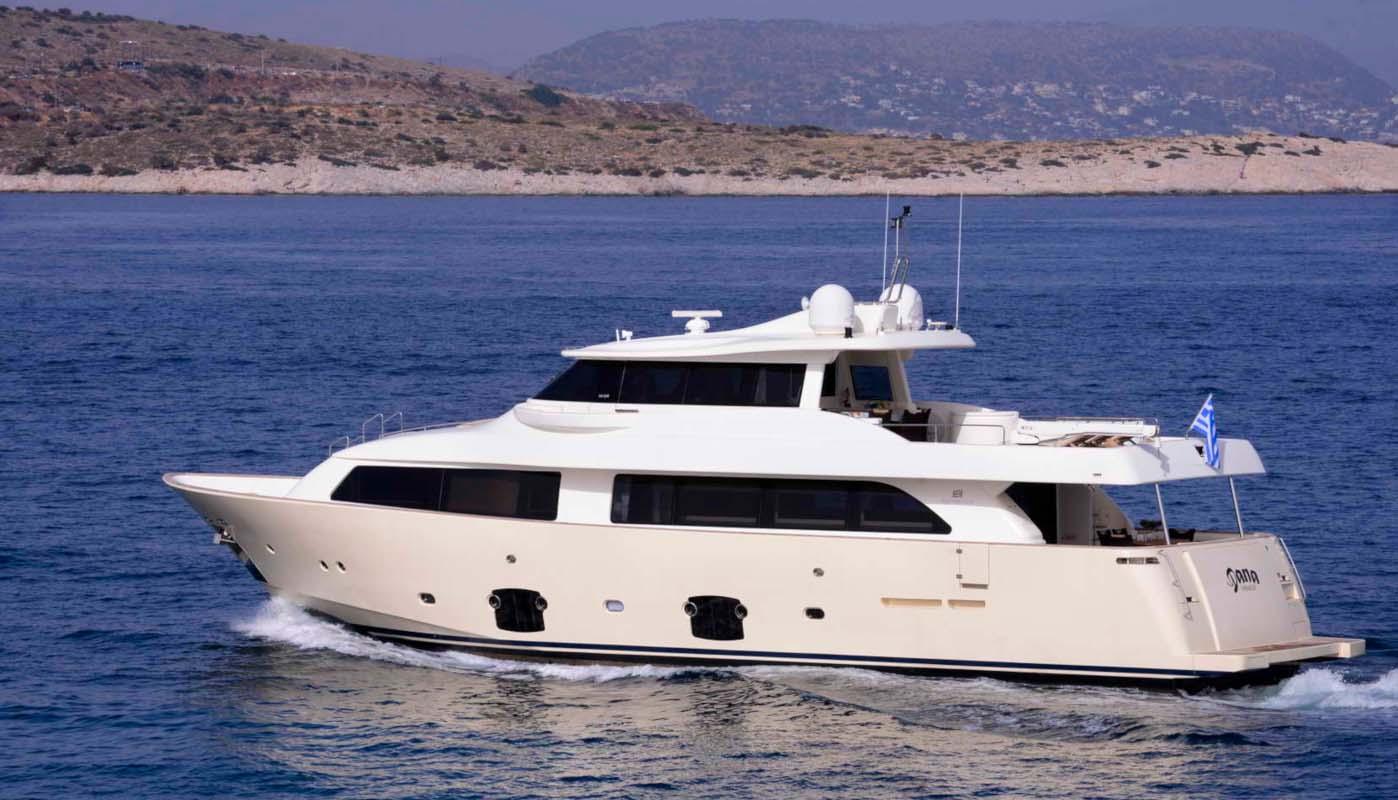 location bateau Ferretti Navetta 26m