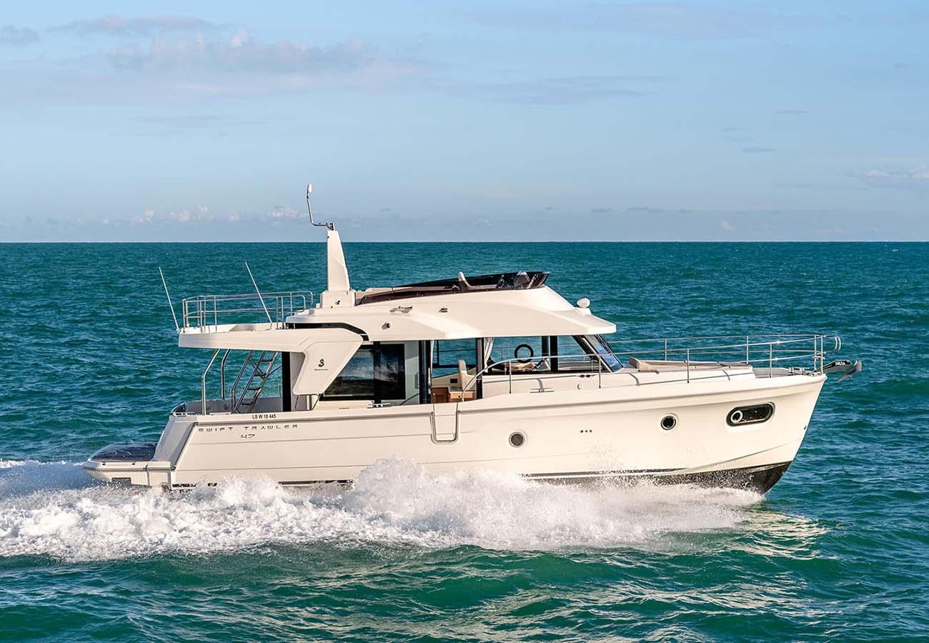 location bateau Swift Trawler 47
